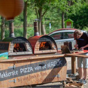 Inclusief pizza bereidingstegels
