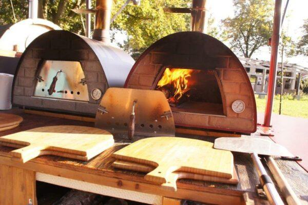 Inclusief houten pizzaplanken